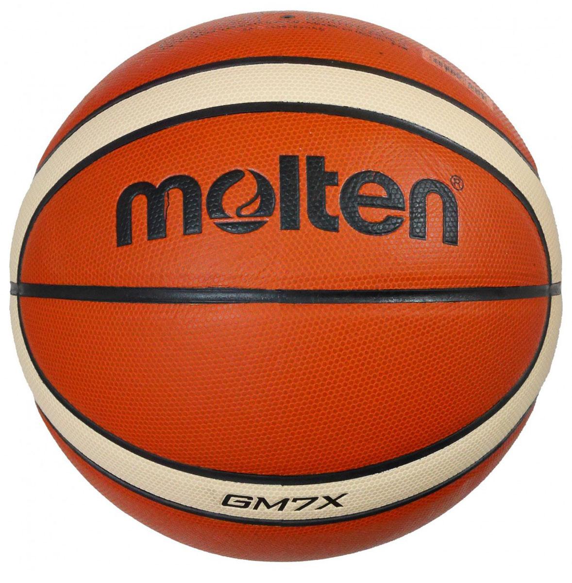 Мяч баскетбольный Molten. Размер 7. BGM7X мяч баскетбольный molten go7 ua
