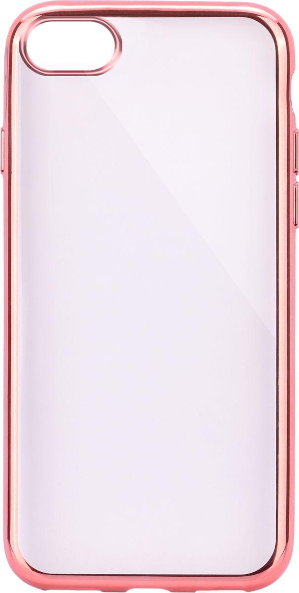 Interstep Frame чехол для Apple iPhone 7/8, PinkHFR-APIPH07K-NP1105P-K100Стильный ультратонкий чехол Interstep Frame для Apple iPhone 7 обеспечивает надежную защиту корпуса смартфона от механических повреждений и надолго сохраняет его привлекательный внешний вид. Элегантное гальванопокрытие не подвержено стиранию, модная цветовая гамма рамки сочетается с цветами смартфонов Apple, выгодно подчеркивая их. Чехол также обеспечивает свободный доступ ко всем разъемам и клавишам устройства.
