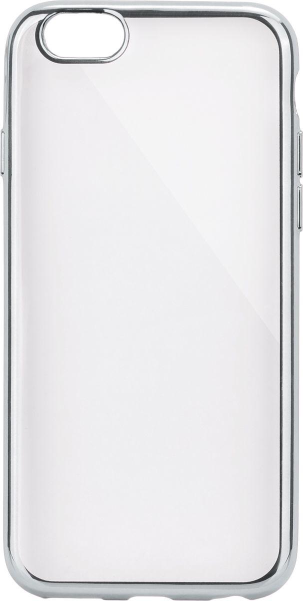 Interstep Frame чехол для Apple iPhone 6/6s, SilverHFR-APIPHN6K-NP1117O-K100Стильный ультратонкий чехол Interstep Frame для Apple iPhone 6/6s обеспечивает надежную защиту корпуса смартфона от механических повреждений и надолго сохраняет его привлекательный внешний вид. Элегантное гальванопокрытие не подвержено стиранию, модная цветовая гамма рамки сочетается с цветами смартфонов Apple, выгодно подчеркивая их. Чехол также обеспечивает свободный доступ ко всем разъемам и клавишам устройства.