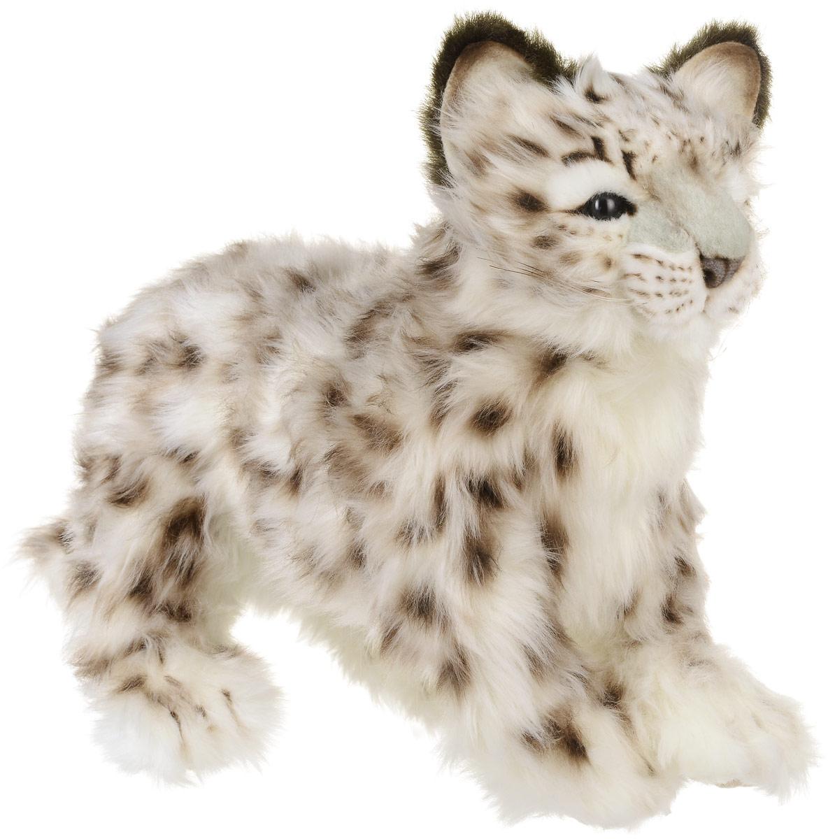 Hansa Мягкая игрушка Снежный леопард детеныш 34 см