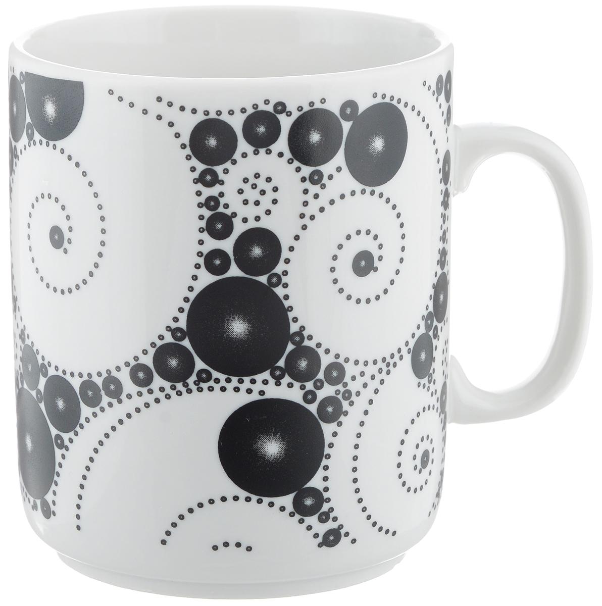 Кружка Фарфор Вербилок Жемчужный, 300 мл9461640Кружка Фарфор Вербилок Жемчужный способна скрасить любое чаепитие. Изделие выполнено из высококачественного фарфора. Посуда из такого материала позволяет сохранить истинный вкус напитка, а также помогает ему дольше оставаться теплым.Диаметр по верхнему краю: 7,5 см.Высота кружки: 10 см.