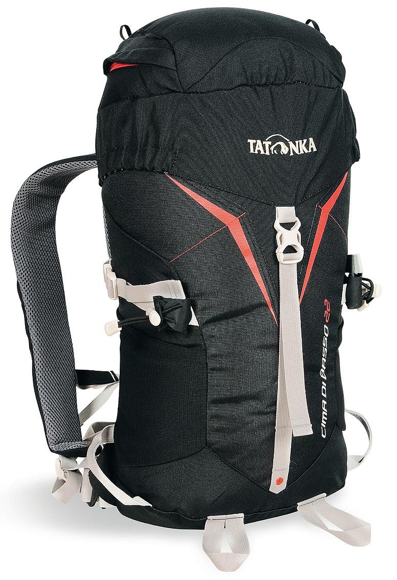 Рюкзак туристический Tatonka Cima di Basso, цвет: черный, 22 л1485.040Легкий рюкзак Tatonka Cima di Basso, выполненный из высококачественных материалов, отлично подходит для туристических походов. Подвеска Padded Back и съемный поясной ремень обеспечивают отличную фиксацию рюкзака на спине даже в условиях повышенной подвижности. Боковые стяжки позволяют закрепить на рюкзаке веревку. Предусмотрено два места для крепления палок или ледоруба.Особенности: - система подвески Padded Back;- съемный поясной ремень;- держатели для ледоруба;- боковые стяжки;- отделение в крышке рюкзака с держателем для ключей;- петли на крышке рюкзака для крепления веревки;- боковые сетчатые карманы.
