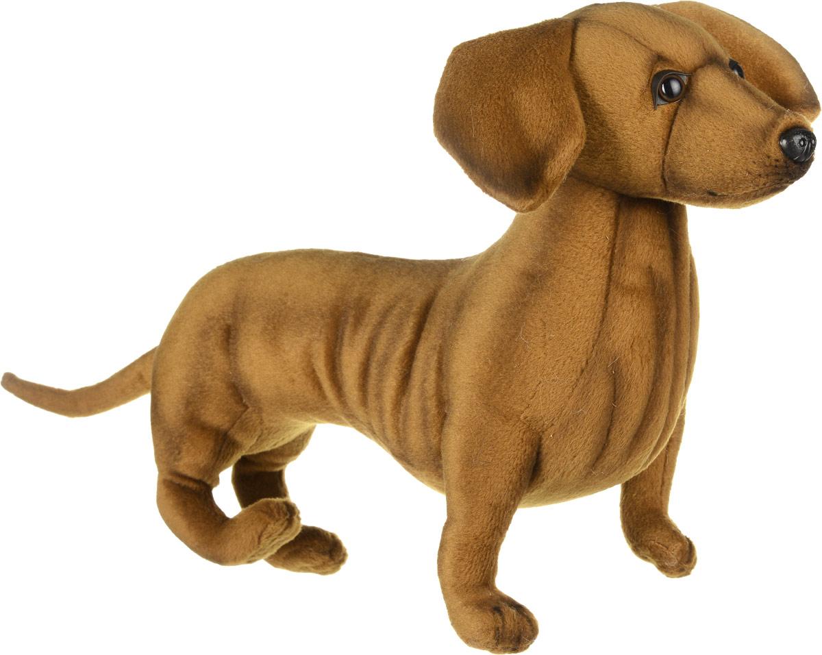 Hansa Мягкая игрушка Такса 42 см hansa мягкая игрушка собака себастиан