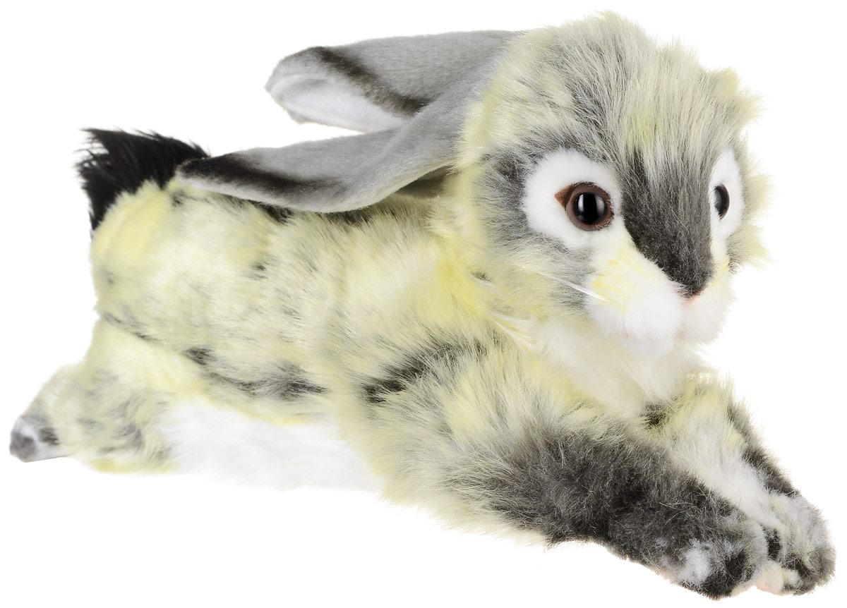 Hansa Мягкая игрушка Заяц вислоухий 40 см серый вислоухий котнок цена
