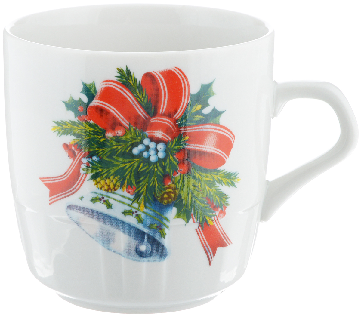 """Кружка Фарфор Вербилок """"Колокольчик"""" способна  скрасить любое чаепитие. Изделие выполнено из  высококачественного фарфора. Посуда из такого  материала позволяет сохранить истинный вкус напитка, а  также помогает ему дольше оставаться теплым. Диаметр по верхнему краю: 8 см. Высота кружки: 8,5 см."""