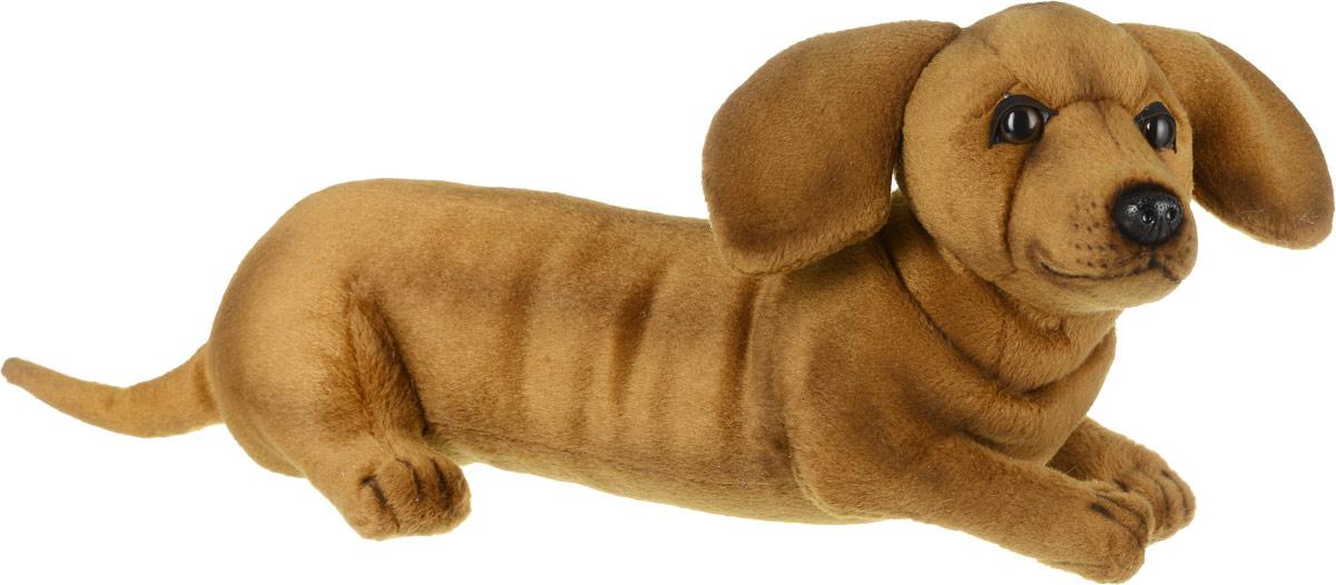 Hansa Мягкая игрушка Такса щенок 40 см 4002