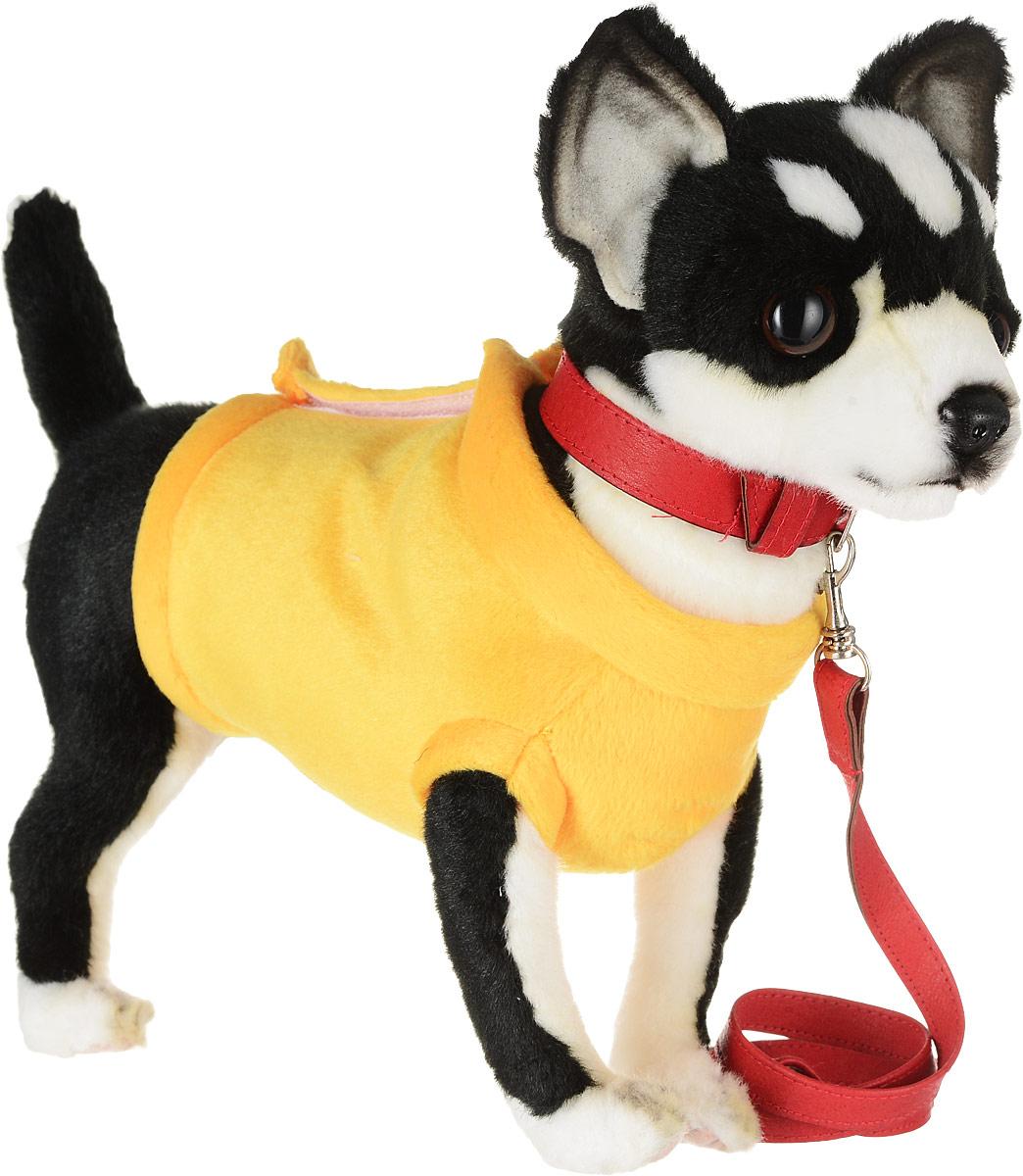 Hansa Мягкая игрушка Чихуахуа 27 см в каких зоомагазинах можно в луховицах собаку породы чихуахуа