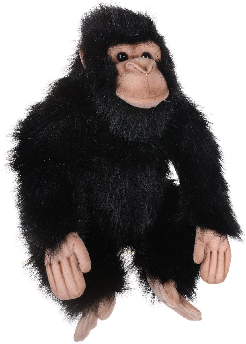 Hansa Мягкая игрушка Шимпанзе 25 см мягкая игрушка шимпанзе hansa шимпанзе искусственный мех синтепон черный 24 см 4960