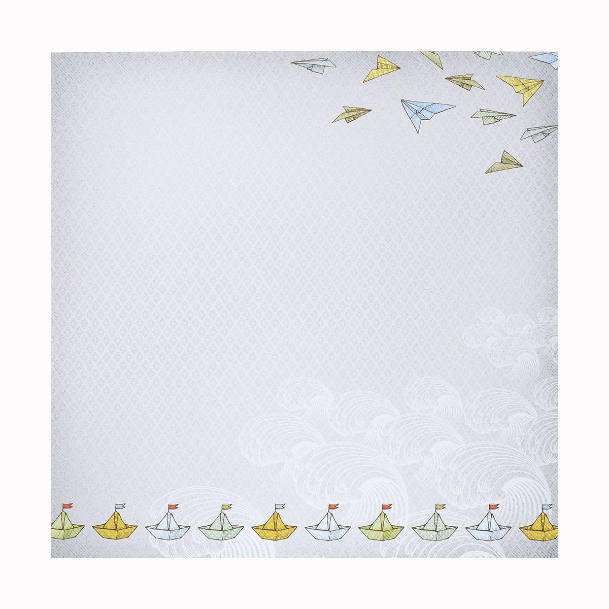 Бумага для скрапбукинга ScrapBerrys Мальчик и девочка. Счастливое время, двухсторонняя, 30,5 х 30,5 см, 10 листов. 488623488623