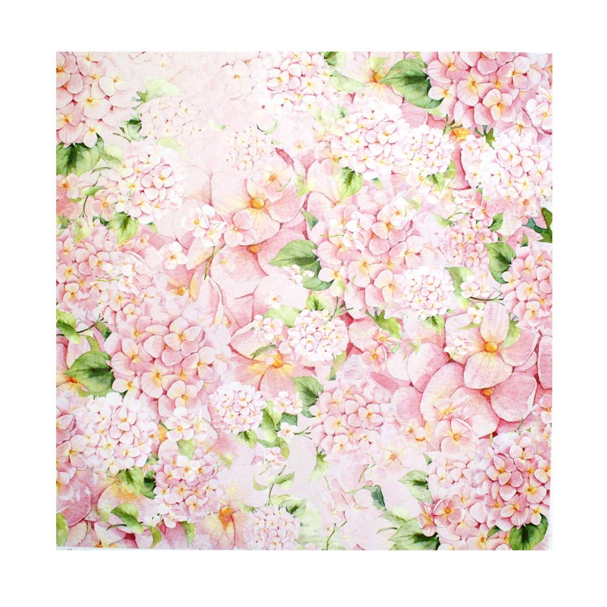 Бумага для скрапбукинга ScrapBerrys Цветущий сад. Весенний букет, 30,5 х 30,5 см, 10 листов. 497506497506