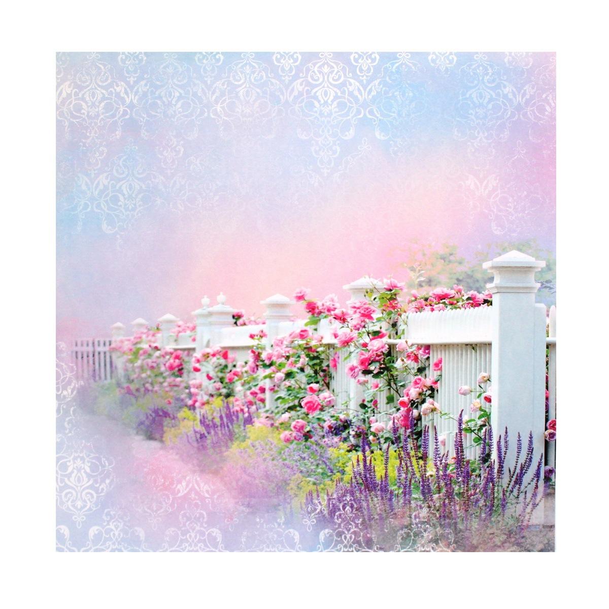 Бумага для скрапбукинга ScrapBerrys Цветущий сад, 30,5 х 30,5 см, 10 листов. 497516497516