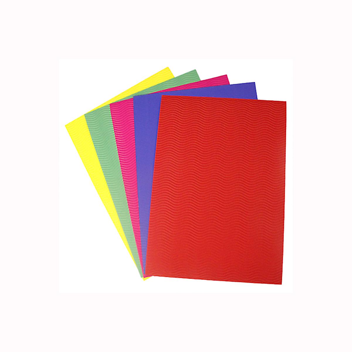 Бумага гофрированная Бэстекс Волна, 5 листов. 545631545631Бумага Бэстекс Волна идеально подходит для творческих работ и скрапбукинга.Бумага Бэстекс Волна поможет вам сохранить все важные моменты жизни на собственных изделиях из фотографий, газетных вырезок, рисунков и других памятных мелочей. Эту бумагу можно использовать как фон или для создания декоративных элементов.В наборе 5 листов.Размер: 210 х 297 мм