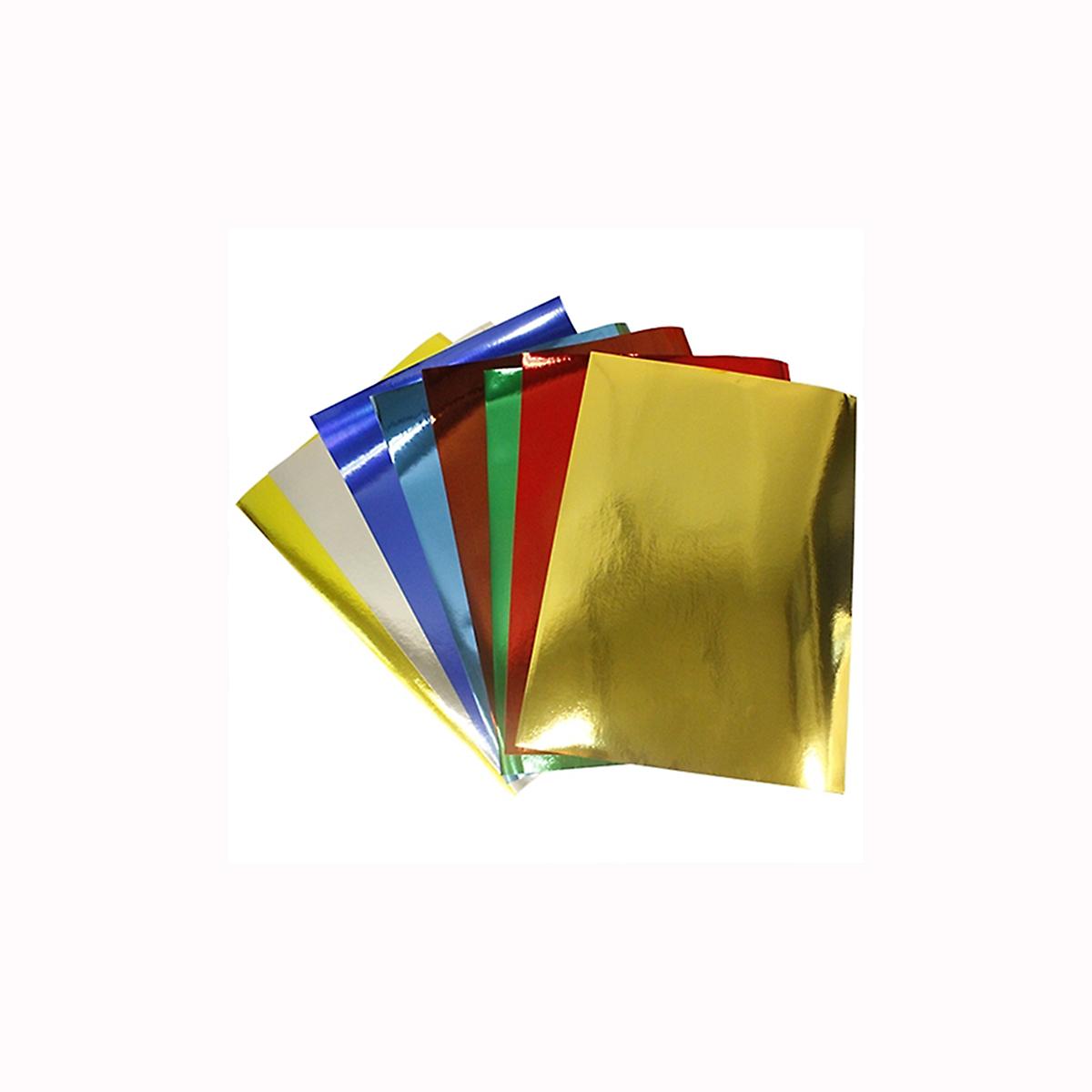 Бумага Бэстекс Металлик, 5 листов. 545635545635Бумага Бэстекс Металлик идеально подходит для творческих работ и скрапбукинга.Бумага Бэстекс Металлик поможет вам сохранить все важные моменты жизни на собственных изделиях из фотографий, газетных вырезок, рисунков и других памятных мелочей. Эту бумагу можно использовать как фон или для создания декоративных элементов.Плотность бумаги - 80 грм2 В наборе 5 листов формата А4.