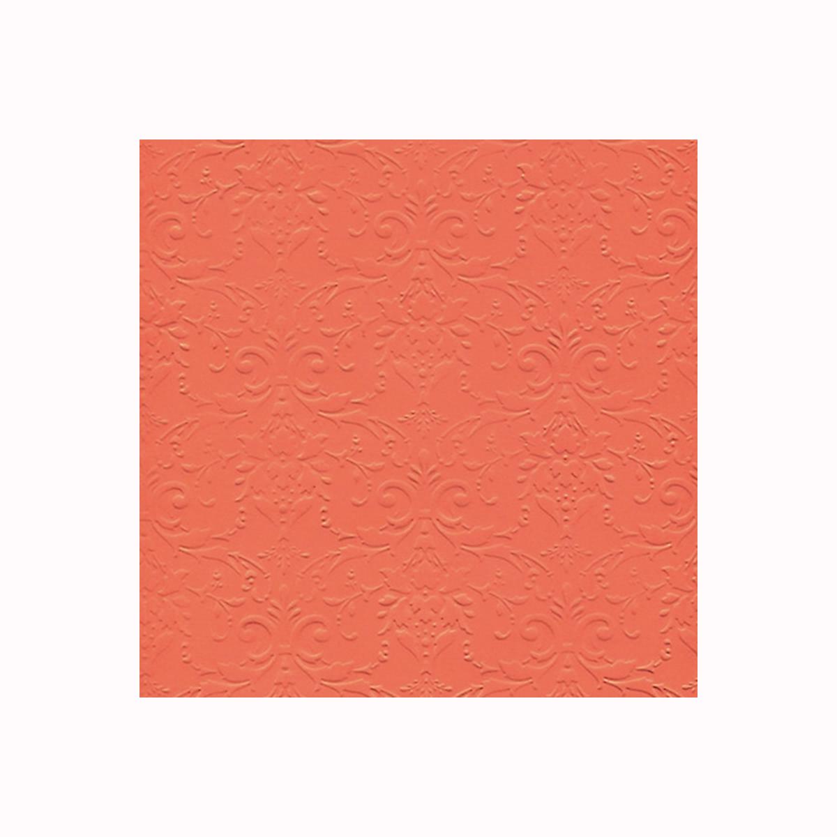 Бумага фактурная Лоза Дамасский узор, цвет: оранжевый, 3 листа дамасский нож