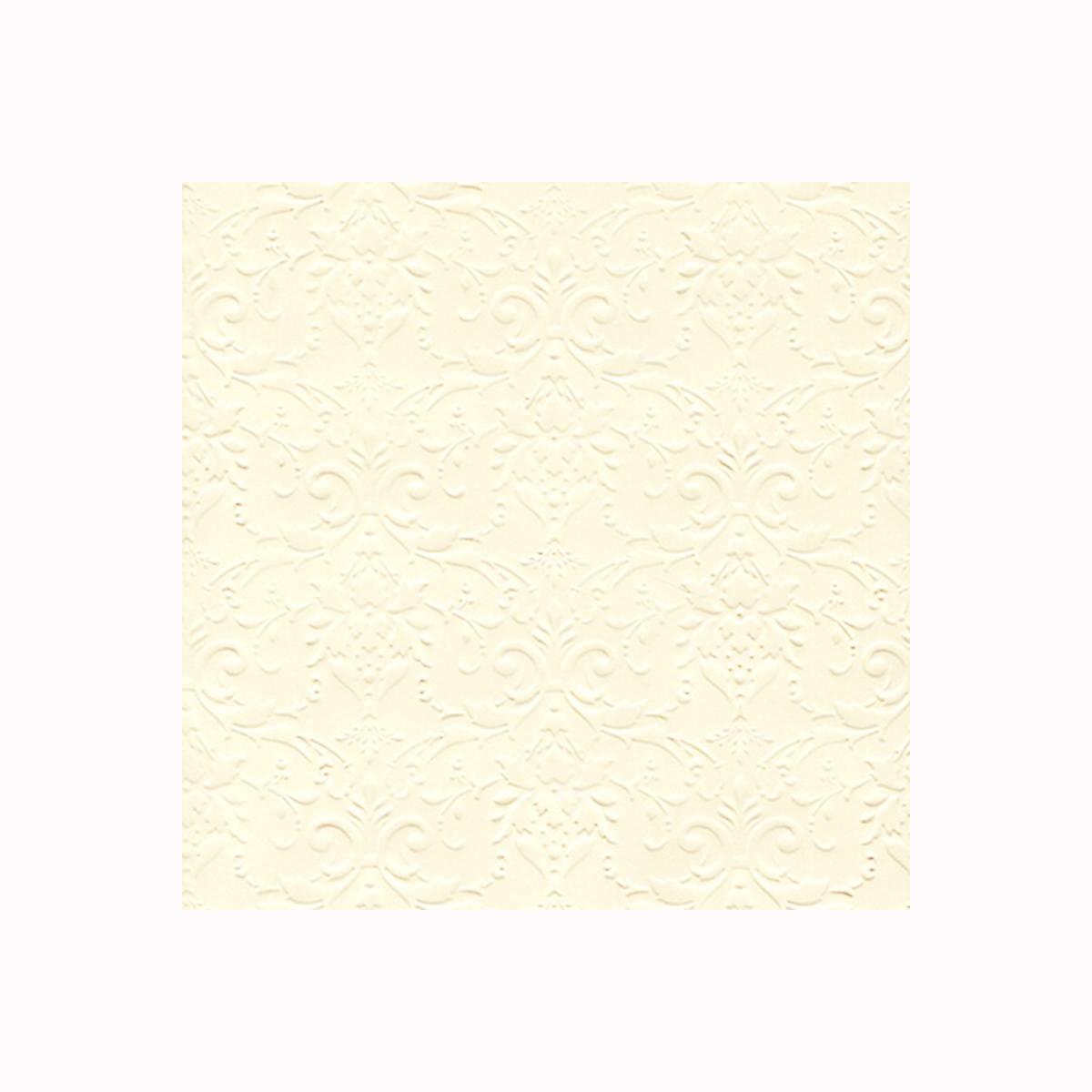 Бумага фактурная Лоза Дамасский узор, цвет: кремовый, 3 листа582975_БР003-6 кремовыйФактурная бумага для скрапбукинга Лоза Дамасский узор позволит создать красивый альбом, фоторамку или открытку ручной работы, оформить подарок или аппликацию. Набор включает в себя 3 листа из плотной бумаги. Скрапбукинг - это хобби, которое способно приносить массу приятных эмоций не только человеку, который этим занимается, но и его близким, друзьям, родным. Это невероятно увлекательное занятие, которое поможет вам сохранить наиболее памятные и яркие моменты вашей жизни, а также интересно оформить интерьер дома.Плотность бумаги: 200 г/м2.