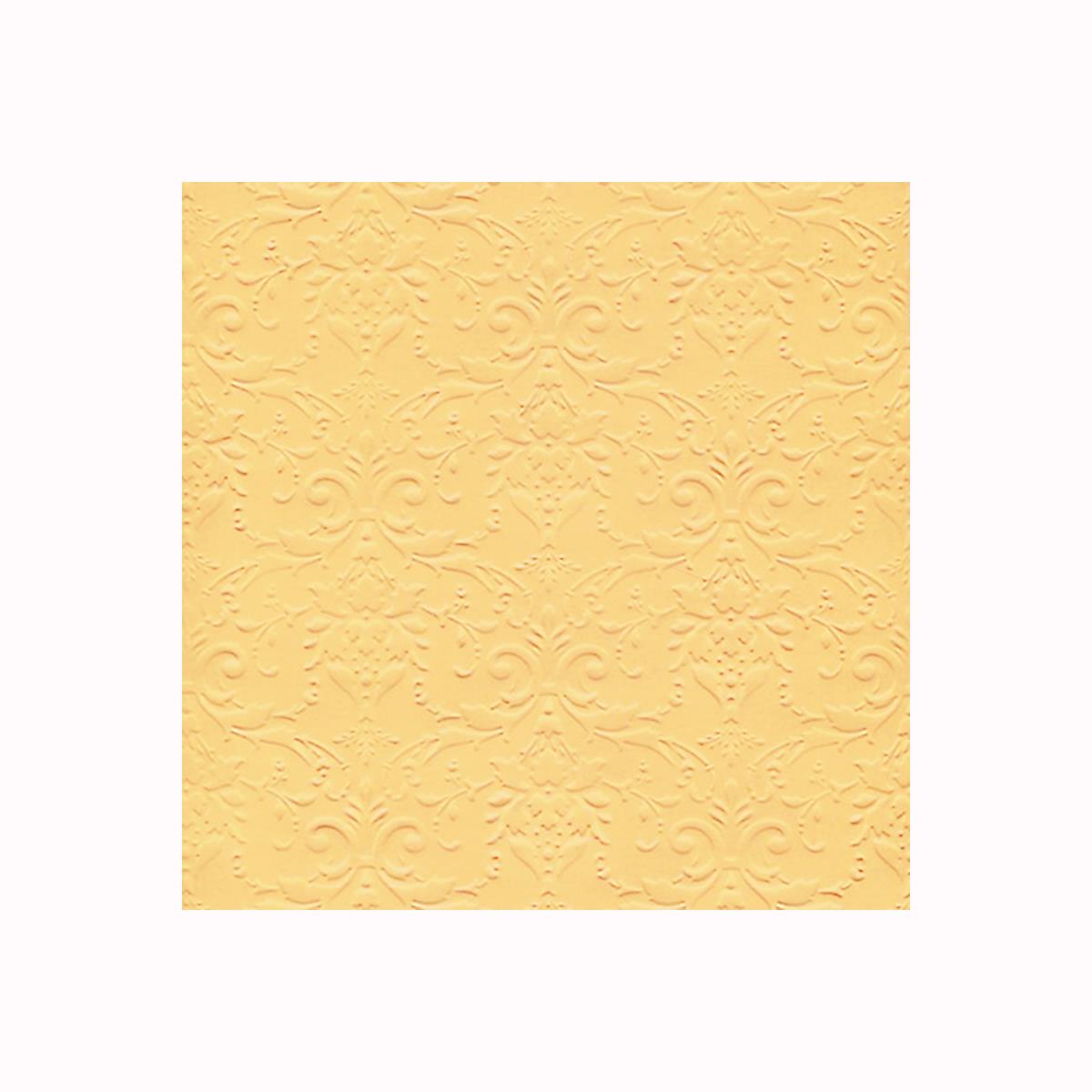 Бумага фактурная Лоза Дамасский узор, цвет: желтый, 3 листа582975_БР003-4 желтыйФактурная бумага для скрапбукинга Лоза Дамасский узор позволит создать красивый альбом, фоторамку или открытку ручной работы, оформить подарок или аппликацию. Набор включает в себя 3 листа из плотной бумаги. Скрапбукинг - это хобби, которое способно приносить массу приятных эмоций не только человеку, который этим занимается, но и его близким, друзьям, родным. Это невероятно увлекательное занятие, которое поможет вам сохранить наиболее памятные и яркие моменты вашей жизни, а также интересно оформить интерьер дома.