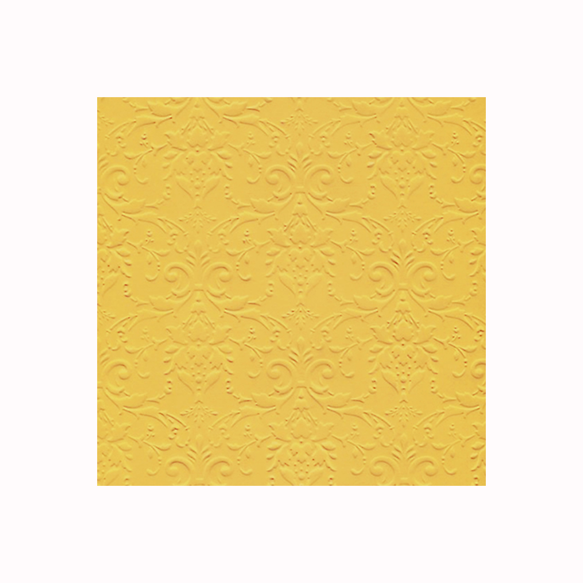 Бумага фактурная Лоза Дамасский узор, цвет: ярко-желтый, 3 листа582975_БР003-11 ярко-желтыйФактурная бумага для скрапбукинга Лоза Дамасский узор позволит создать красивый альбом, фоторамку или открытку ручной работы, оформить подарок или аппликацию. Набор включает в себя 3 листа из плотной бумаги.Скрапбукинг - это хобби, которое способно приносить массу приятных эмоций не только человеку, который этим занимается, но и его близким, друзьям, родным. Это невероятно увлекательное занятие, которое поможет вам сохранить наиболее памятные и яркие моменты вашей жизни, а также интересно оформить интерьер дома. Плотность бумаги: 200 г/м2.