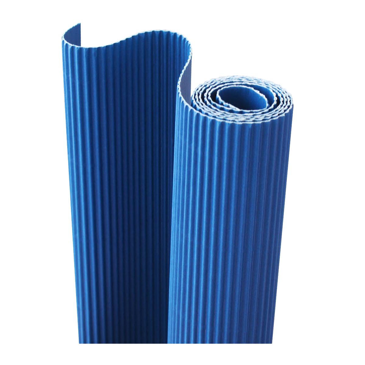 Картон гофрированный Folia, цвет: синий, 50 х 70 см7710888_34 синийДвухслойный гофрированный картон Folia в основном применяется для декорирования. Он состоит из одного слоя плоского картона и слоя бумаги, имеющую волнообразную (гофрированную) форму. Отличается малым весом и высокими физическими параметрами.Применение: для дизайнерских и оформительских работ, для декоративного детского творчества. Также такой материал хорошо зарекомендовал себя в качестве упаковочного материала.