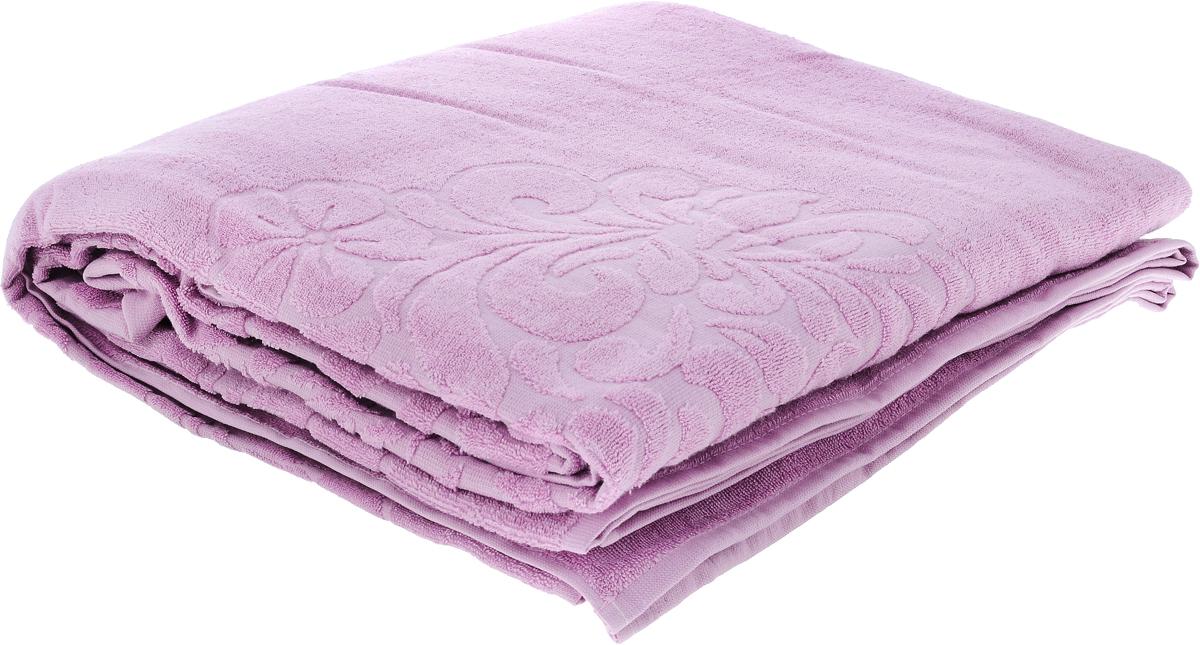 Покрывало Issimo Home Valencia, цвет: сиреневый, 160 х 240 см полотенце бамбуковое issimo home valencia цвет розовый 90 x 150 см