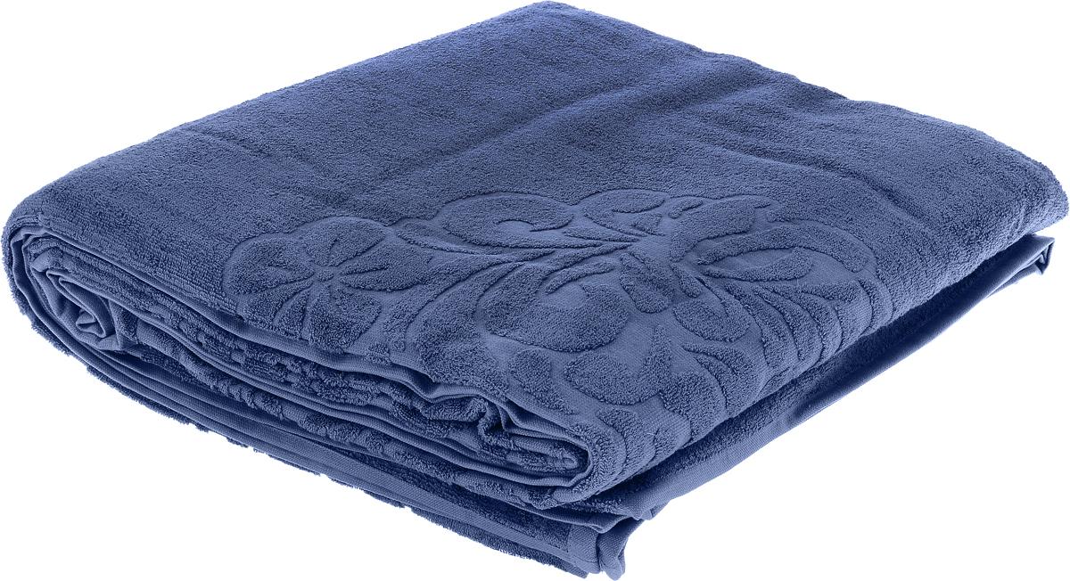 Покрывало Issimo Home Valencia, цвет: джинсовый, 160 х 240 см4656Махровое покрывало Issimo Home Valencia изготовленоиз экологически чистых материалов: хлопка (40%) ибамбука (60%). Изделие оснащено жаккардовой каймой иукрашено рельефным рисунком. Покрывало подходит какдля взрослых, так и для детей. Оно будет хорошосмотреться и на диване, и на большой кровати.