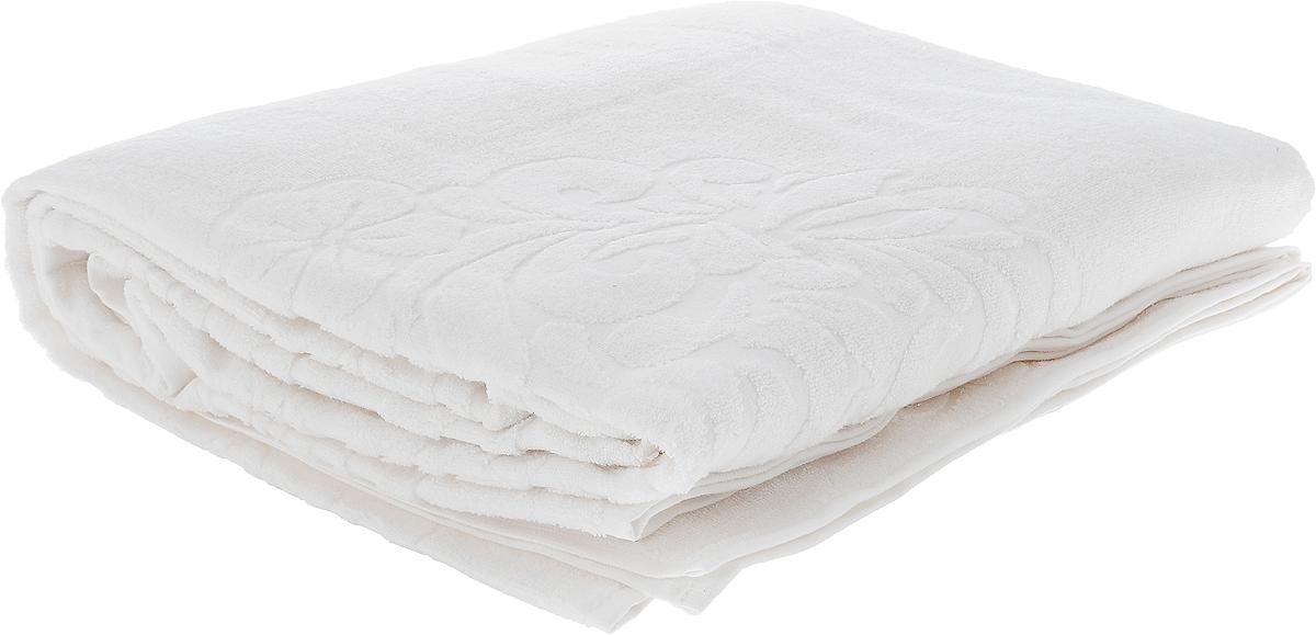 """Махровое покрывало Issimo Home """"Valencia"""" изготовлено  из экологически чистых материалов: хлопка (40%) и  бамбука (60%). Изделие оснащено жаккардовой каймой и  украшено рельефным рисунком. Покрывало подходит как  для взрослых, так и для детей. Оно будет хорошо  смотреться и на диване, и на большой кровати."""