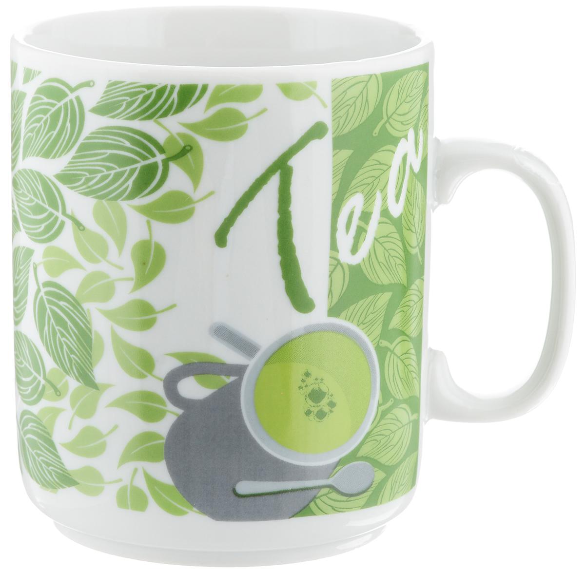 Кружка Фарфор Вербилок Чай, 300 мл9272190Кружка Фарфор Вербилок Чай способна скрасить любое чаепитие. Изделие выполнено из высококачественного фарфора. Посуда из такого материала позволяет сохранить истинный вкус напитка, а также помогает ему дольше оставаться теплым.Диаметр по верхнему краю: 7,5 см.Высота кружки: 10 см.