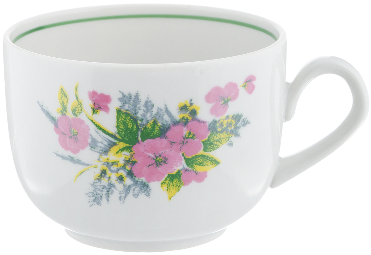 Чашка чайная Фарфор Вербилок Август. Виола, 300 мл767075КЧайная чашка Фарфор Вербилок Август. Виола способна скрасить любое чаепитие. Изделие выполнено из высококачественного фарфора. Посуда из такого материала позволяет сохранить истинный вкус напитка, а также помогает ему дольше оставаться теплым.Диаметр по верхнему краю: 8,5 см.Высота чашки: 6,5 см.