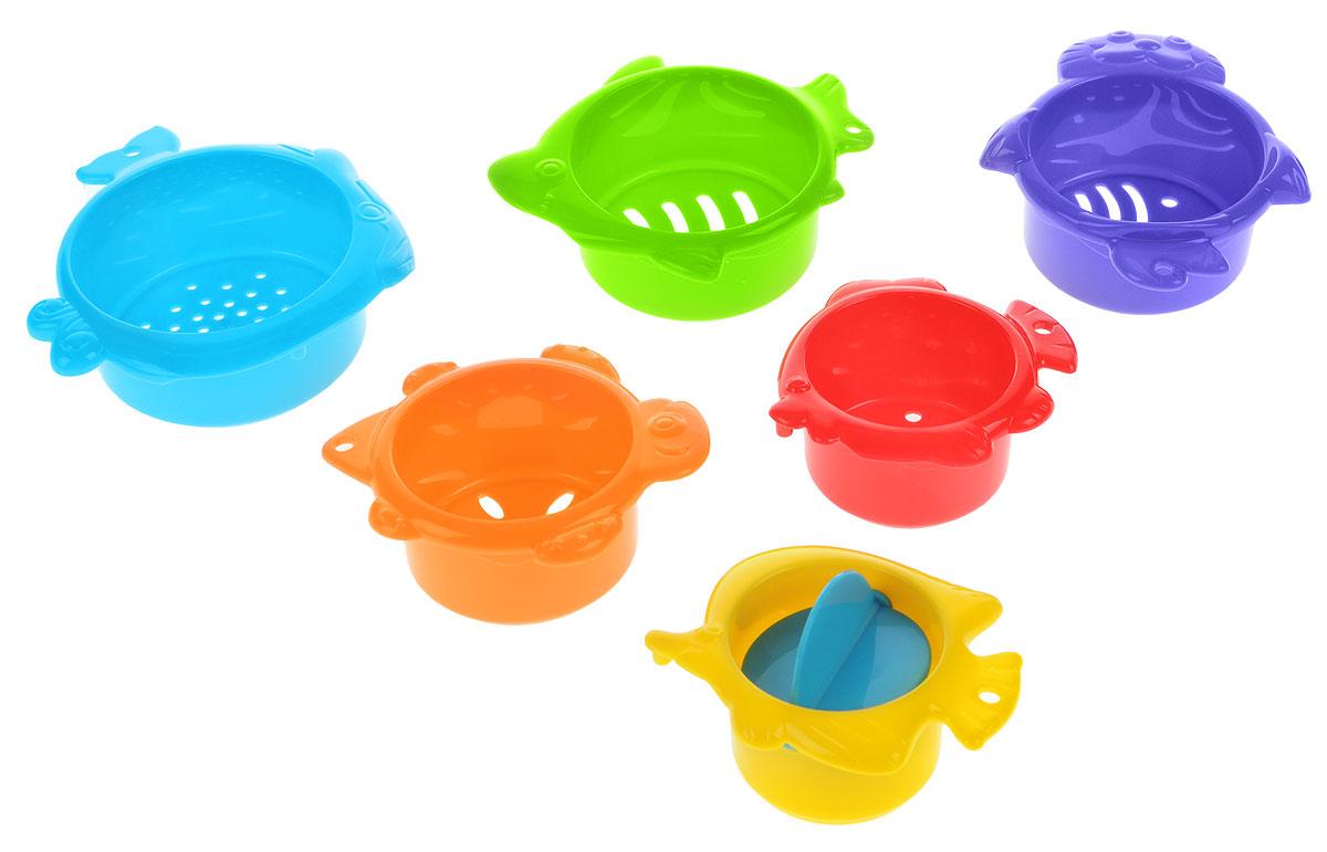 Playgo Игрушка для ванны В морских глубинах 6 шт