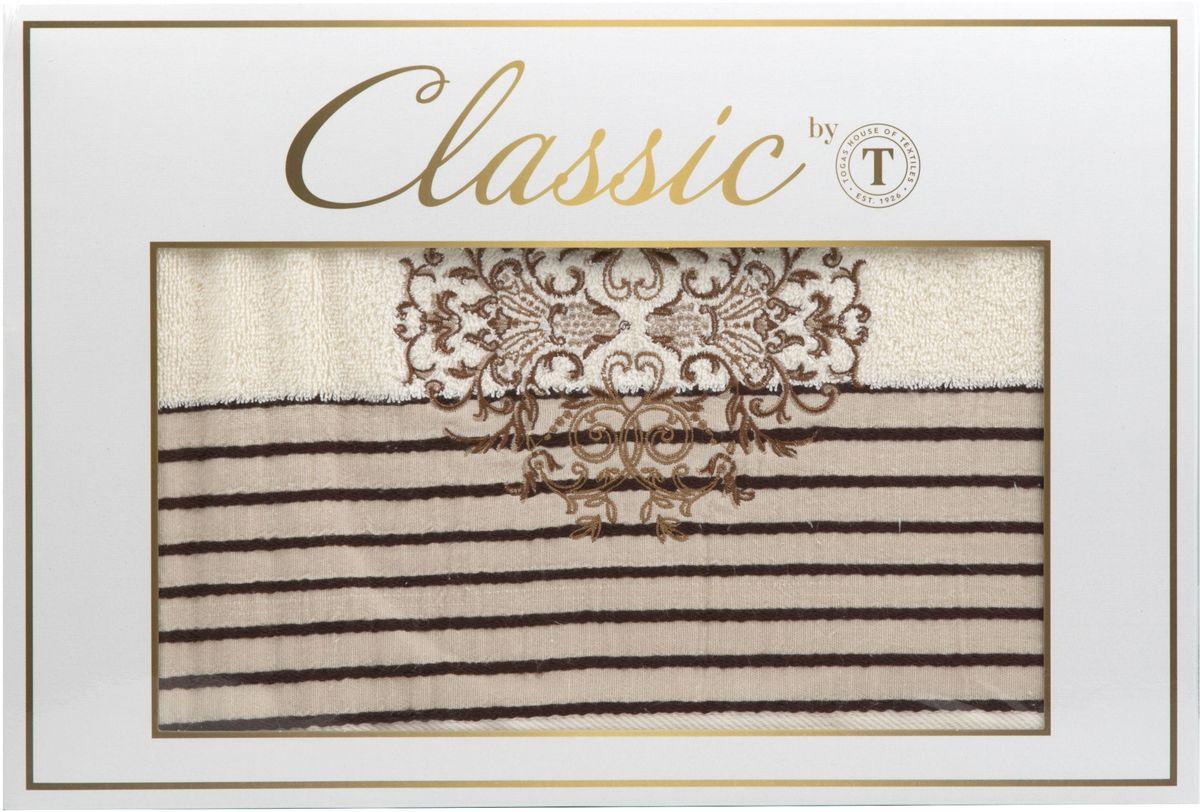 Набор полотенец Сlassic by Togas Винсент, цвет: экрю, 2 шт