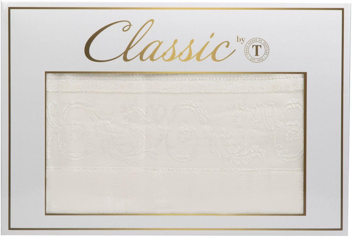 Набор полотенец Сlassic by Togas Фреско, цвет: экрю, 2 шт86279Набор полотенец Сlassic by Togas Фреско состоит из 2 полотенец, оформленных выбитым орнаментом. Изделия выполнены из хлопка. Ткань полотенец обладает высокой плотностью и мягкостью, отличается высоким качеством и длительным сроком службы. Такой набор станет отличным вариантом для практичной и современной хозяйки.