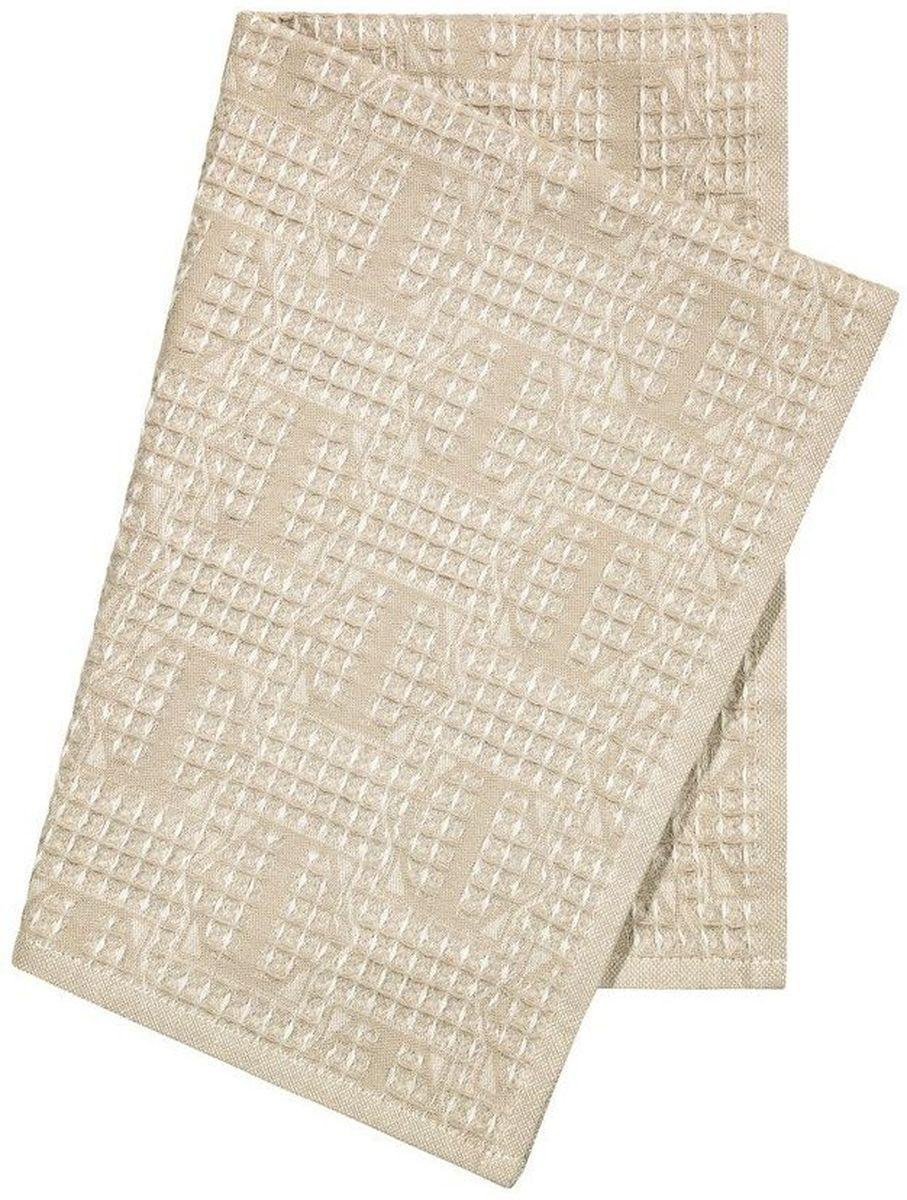 """Кухонное полотенце Togas """"Арно"""", выполненное из 100% качественного хлопка, оформлено оригинальным орнаментом. Изделие предназначено для использования на кухне и в столовой. Оно отлично впитывает влагу, быстро сохнет, сохраняет яркость цвета и не теряет форму даже после многократных стирок.  Такое полотенце станет отличным вариантом для практичной и современной хозяйки."""
