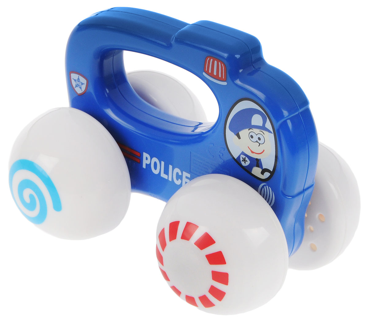 Playgo Развивающая игрушка Полицейская машина игрушка siku полицейская патрульная машина 8 1 3 6 2 9см 1352