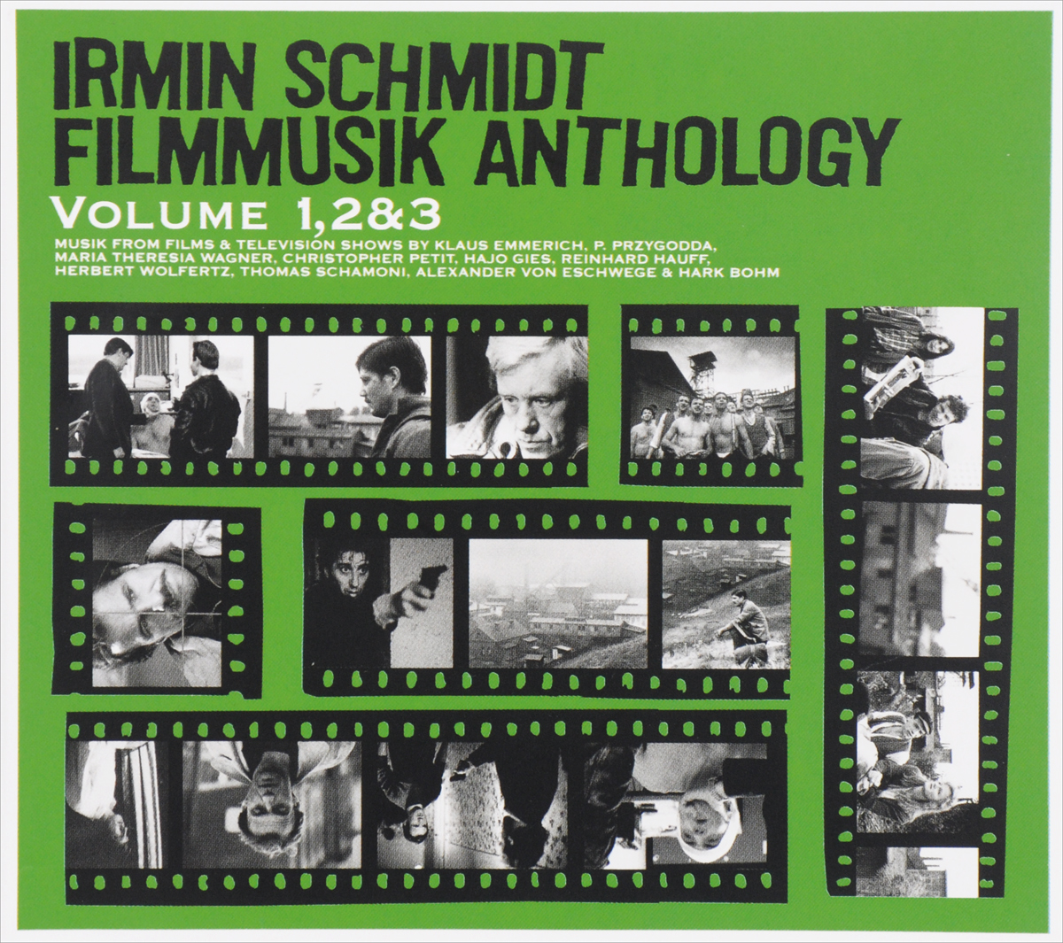 Ирмин Шмидт Irmin Schmidt Filmmusik Anthology Volume 1 2 & 3 3 CD