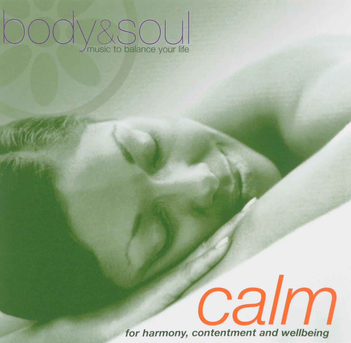 Calm. Body & Soul Music To Balanse Your Life creative life buoy pattern square shape flax pillowcase without pillow inner