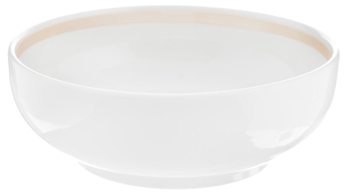 Салатник Фарфор Вербилок, 600 мл17741240Салатник Фарфор Вербилок изготовлен из высококачественного фарфора. Такой салатник будет смотреться не только стильно, но и элегантно. Он дополнит коллекцию кухонной посуды и будет служить долгие годы. Диаметр салатника по верхнему краю: 16 см. Диаметр основания: 10 см.Высота салатника: 5 см.
