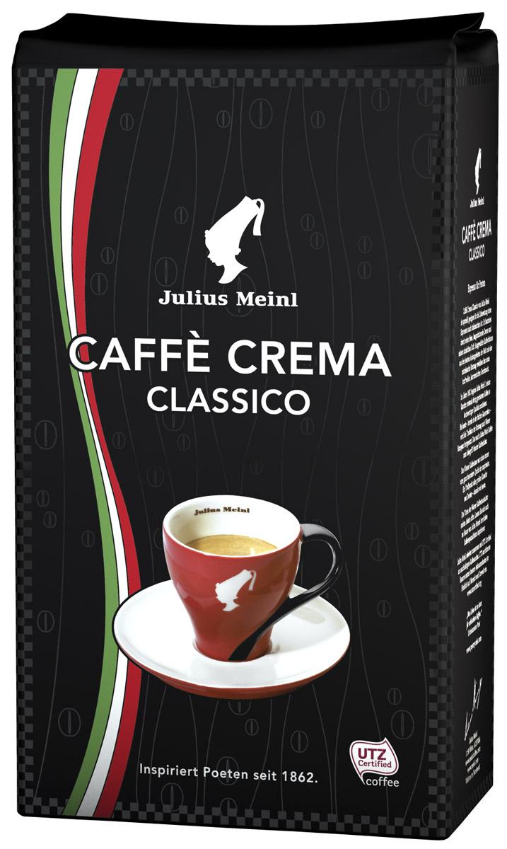 Julius Meinl Крема Классико кофе в зернах, 1 кг купить чай julius meinl в москве