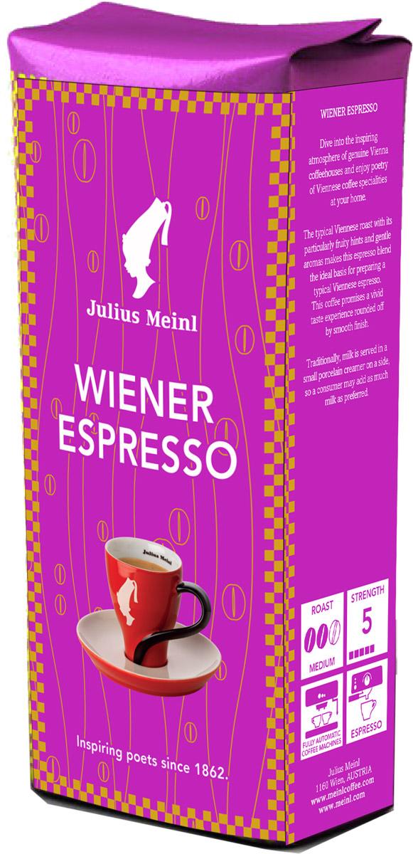 Julius Meinl Венский эспрессо кофе в зернах, 250 г купить чай julius meinl в москве
