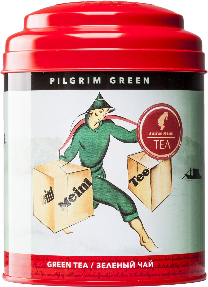 Julius Meinl Пилигрим зеленый листовой чай, 100 г86894Миниатюрные листочки Лун Цзин известны на весь мир благодаря паломничеству к буддийским монастырям озера Сиху. И по сей день Лун Цзин считается чаем для путешественников: его легко заваривать, и даже вдали от дома вы можете насладиться полнотой вкуса листового зеленого чая.