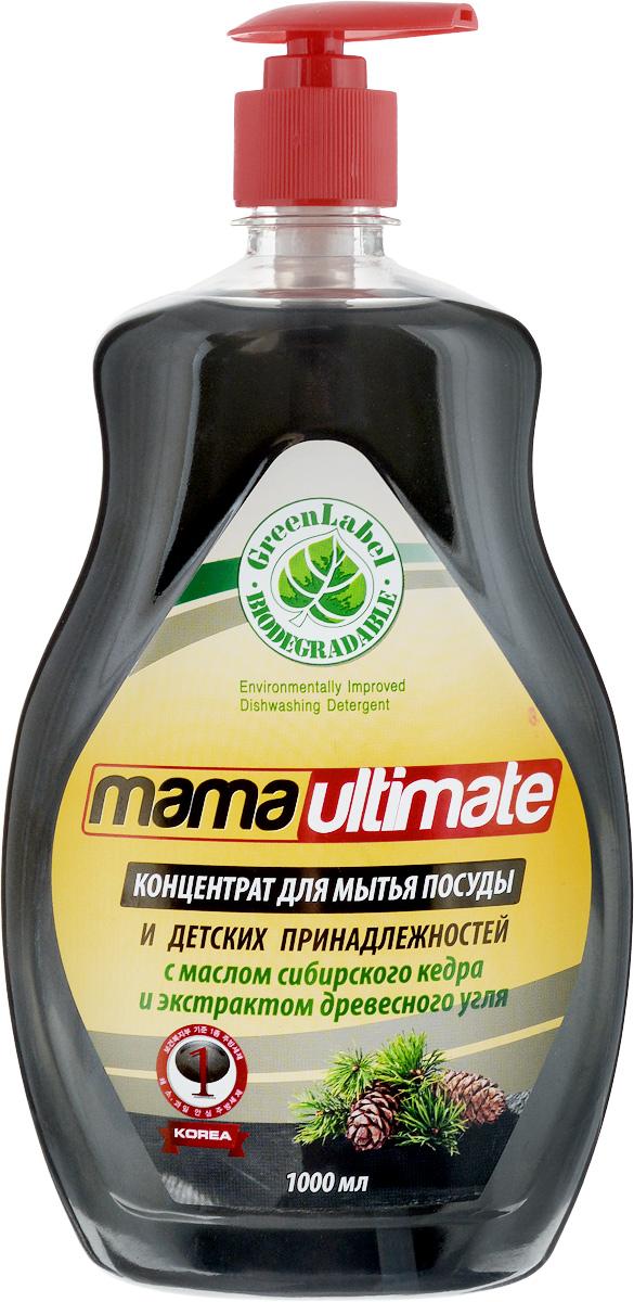 Гель для мытья посуды Mama Ultimate, с ароматом кедра, 1 л49337Мягкое концентрированное средство Mama Ultimate для мытья посуды и детских принадлежностей эффективно удаляет жирные и засохшие загрязнения как в горячей, так и в холодной воде. Благодаря густой гелеобразной формуле средство экономично в использовании. Обладает смягчающим эффектом, не сушит кожу рук, не повреждает ногти и не раздражает дыхательные пути. Нежный аромат сибирского кедра безопасно удаляет неприятный запах с посуды.Товар сертифицирован.