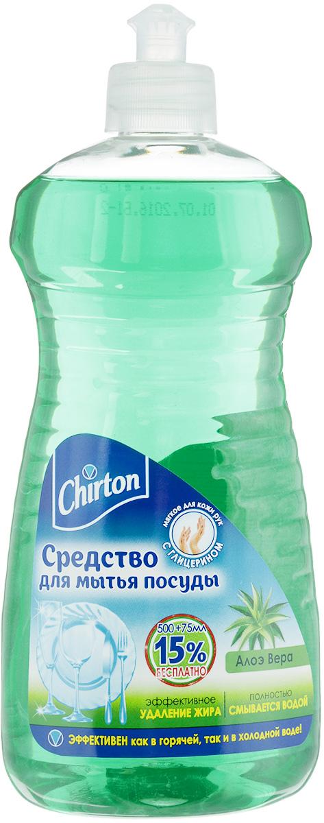 Средство для мытья посуды Chirton Алое Вера, с глицерином, 575 мл43640*Средство для мытья посуды Chirton Алое Вера быстро и эффективно растворяет жир как в горячей, так и в холодной воде, полностью смывается водой. Средство придает посуде блеск, а также не раздражает кожу рук. Имеет приятный аромат. Товар сертифицирован.Как выбрать качественную бытовую химию, безопасную для природы и людей. Статья OZON Гид