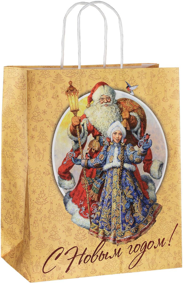 Пакет подарочный Даринчи С Новым годом!, 27 х 12 х 33 смПакет №9Дизайнерский подарочный пакет Даринчи С Новым годом! выполнен из плотной бумаги, оформлен красочным изображением. Дноизделия укреплено плотным картоном, который позволяет сохранить форму пакета и исключает возможность деформации дна подтяжестью подарка. Для удобной переноски имеются две ручки. Подарок, преподнесенный в оригинальной упаковке, всегда будет самым эффектным и запоминающимся. Окружите близких людейвниманием и заботой, вручив презент в нарядном праздничном оформлении.Изделие выполнено вручную.