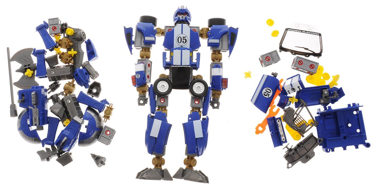 Happy Well Робот-трансформер Ford Mustang FR500C 3 в 1 happy kid робот трансформер с 3 лет