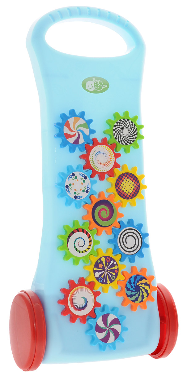 Playgo Игрушка-каталка с шестеренками каталка playgo play 1765 пластик от 1 года на колесах разноцветный