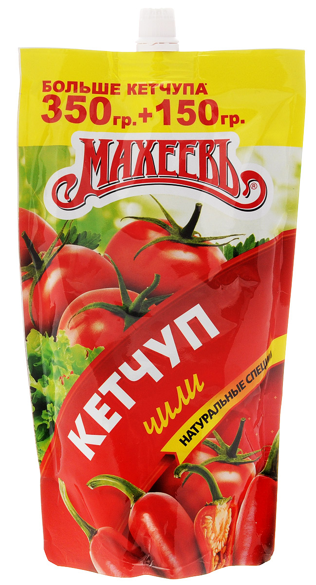 Махеев кетчуп чили, 500 г