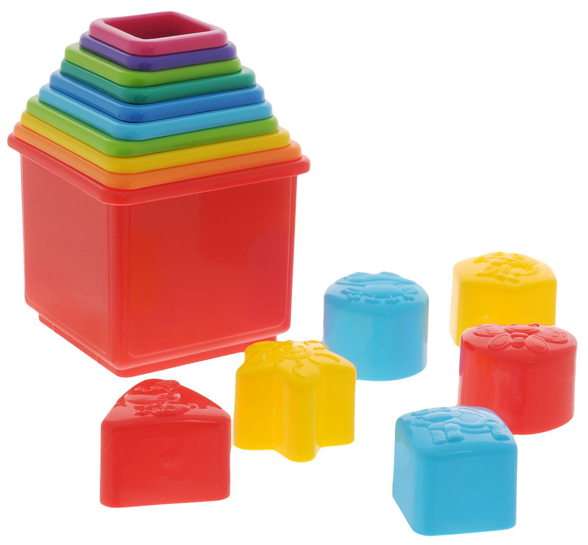 Playgo Пирамида-сортер