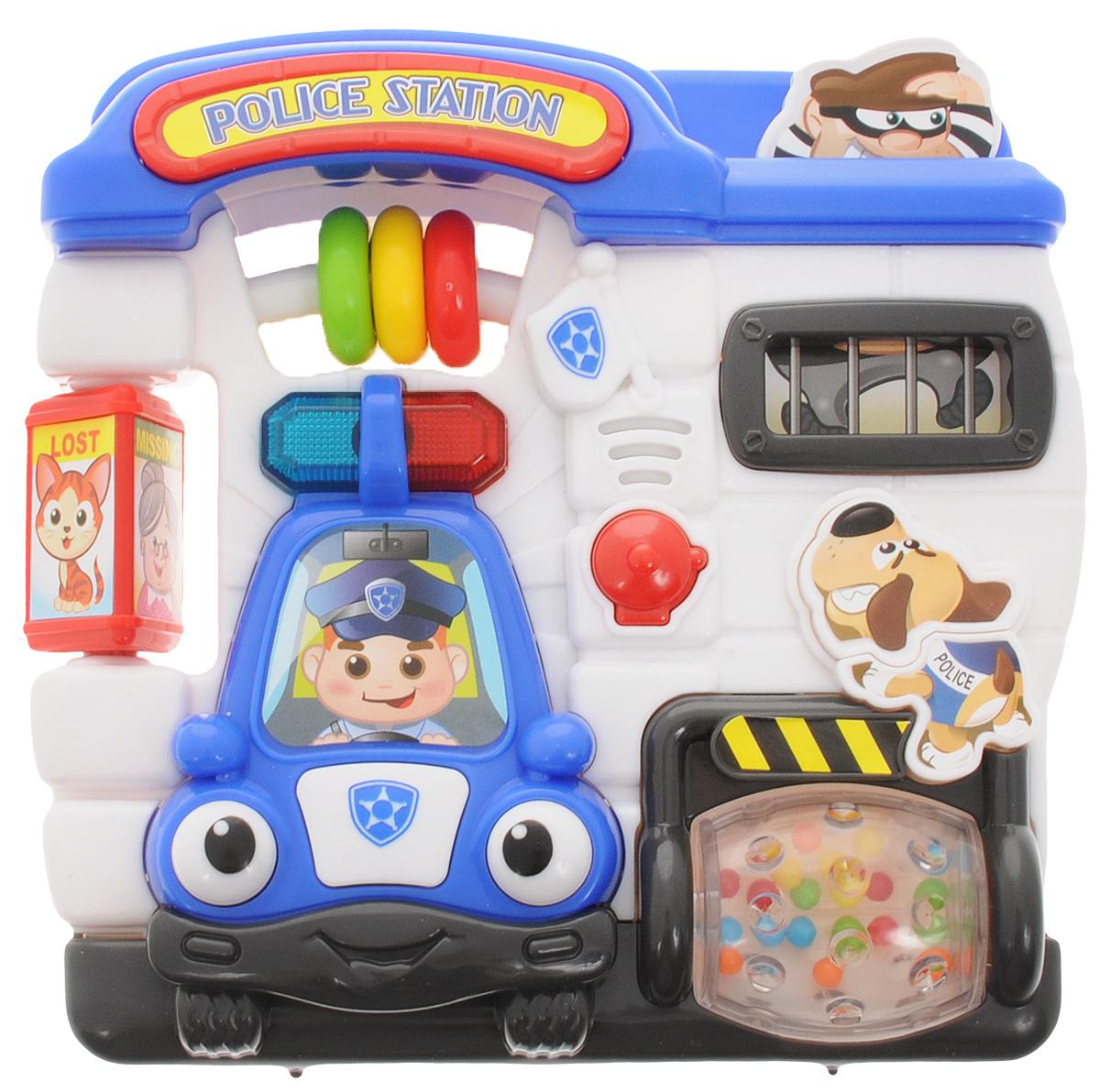 Playgo Развивающая игрушка Полицейский участок хохловка дом с участком