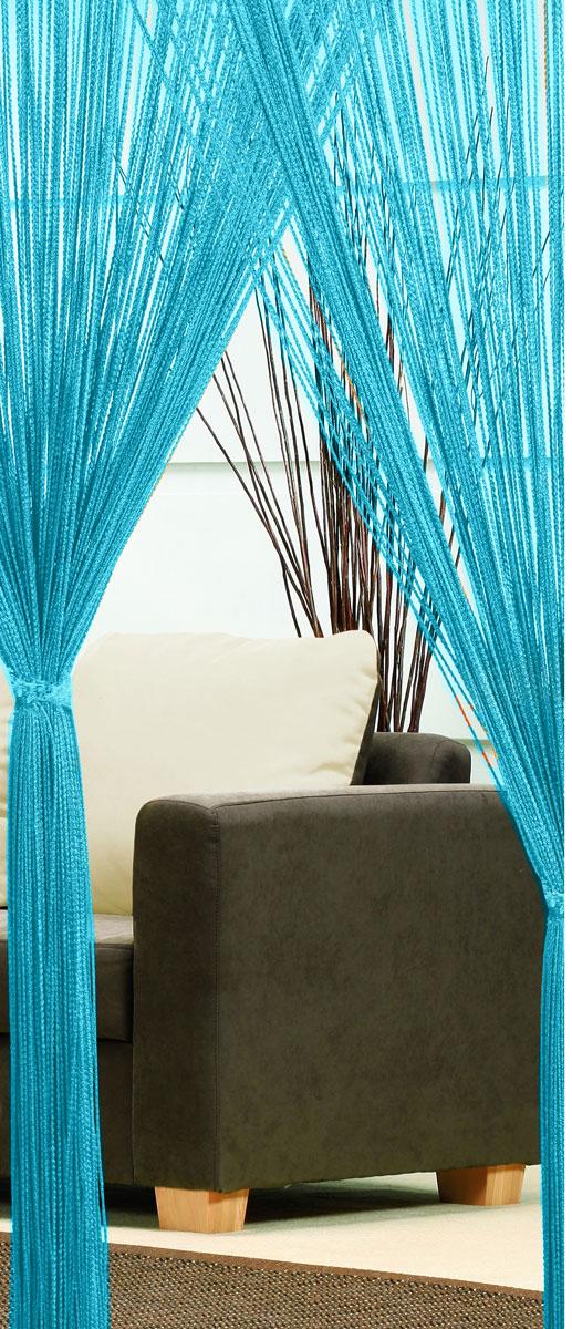 Гардина-лапша Haft, на кулиске, цвет: морская волна, высота 250 см46991/250 морская волнаЛегкая гардина-лапша на кулиске Haft, изготовленная из полиэстера, станетвеликолепным украшением любого окна. Оригинальный дизайн и приятнаяцветовая гамма привлекут к себе внимание и органично впишутся в интерьеркомнаты.