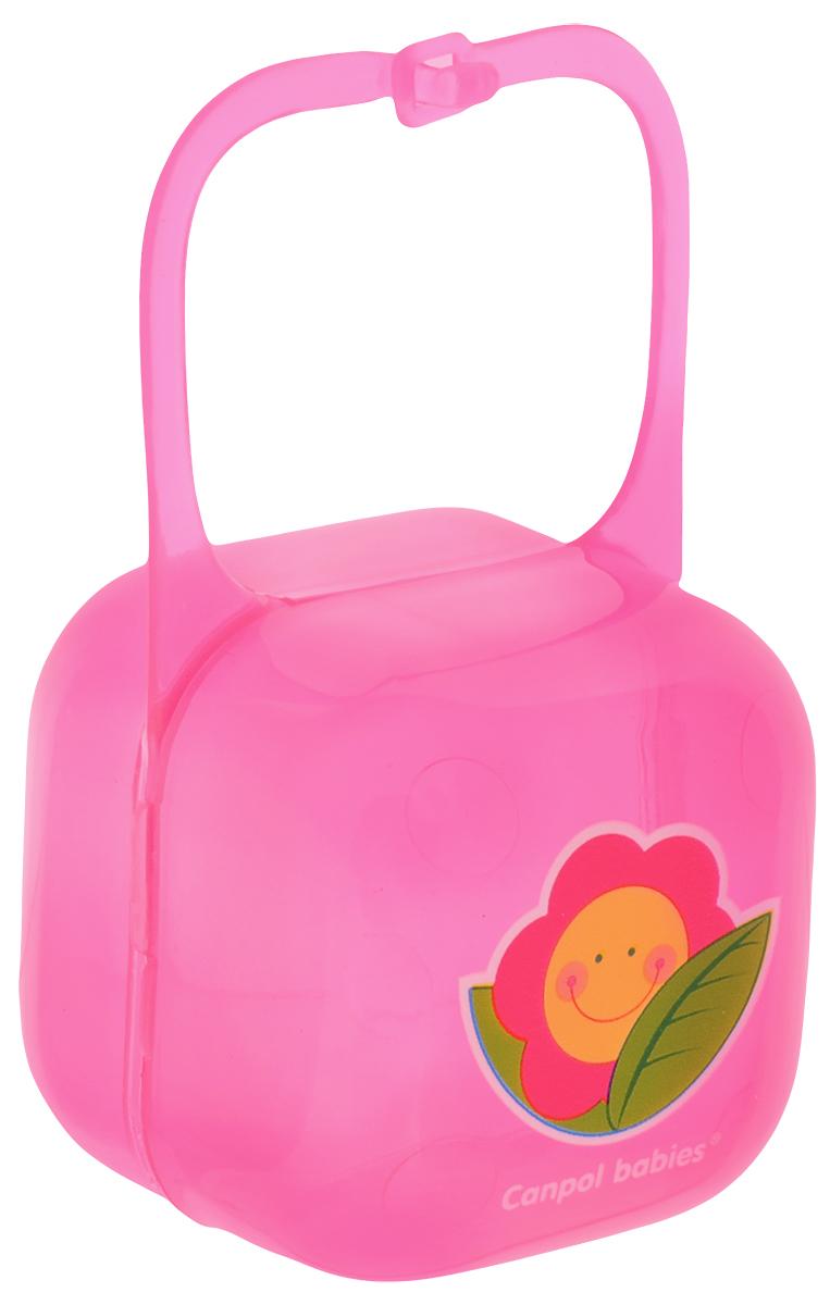 Canpol Babies Футляр для пустышки цвет розовый