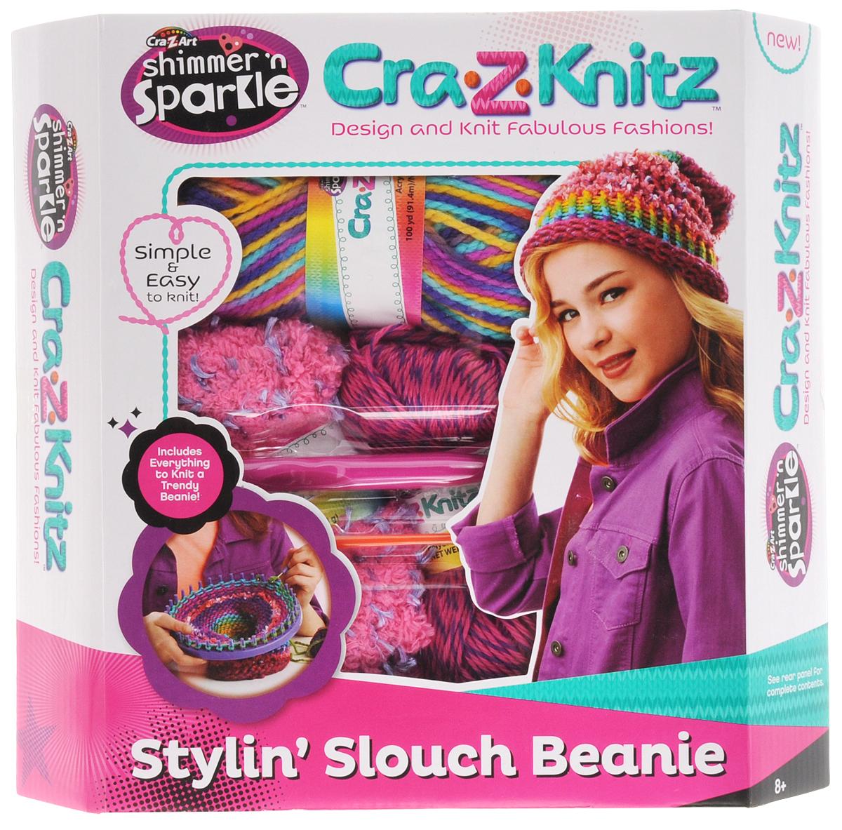 Cra-Z-Knitz Набор для вязания Стильная шапка-колпак