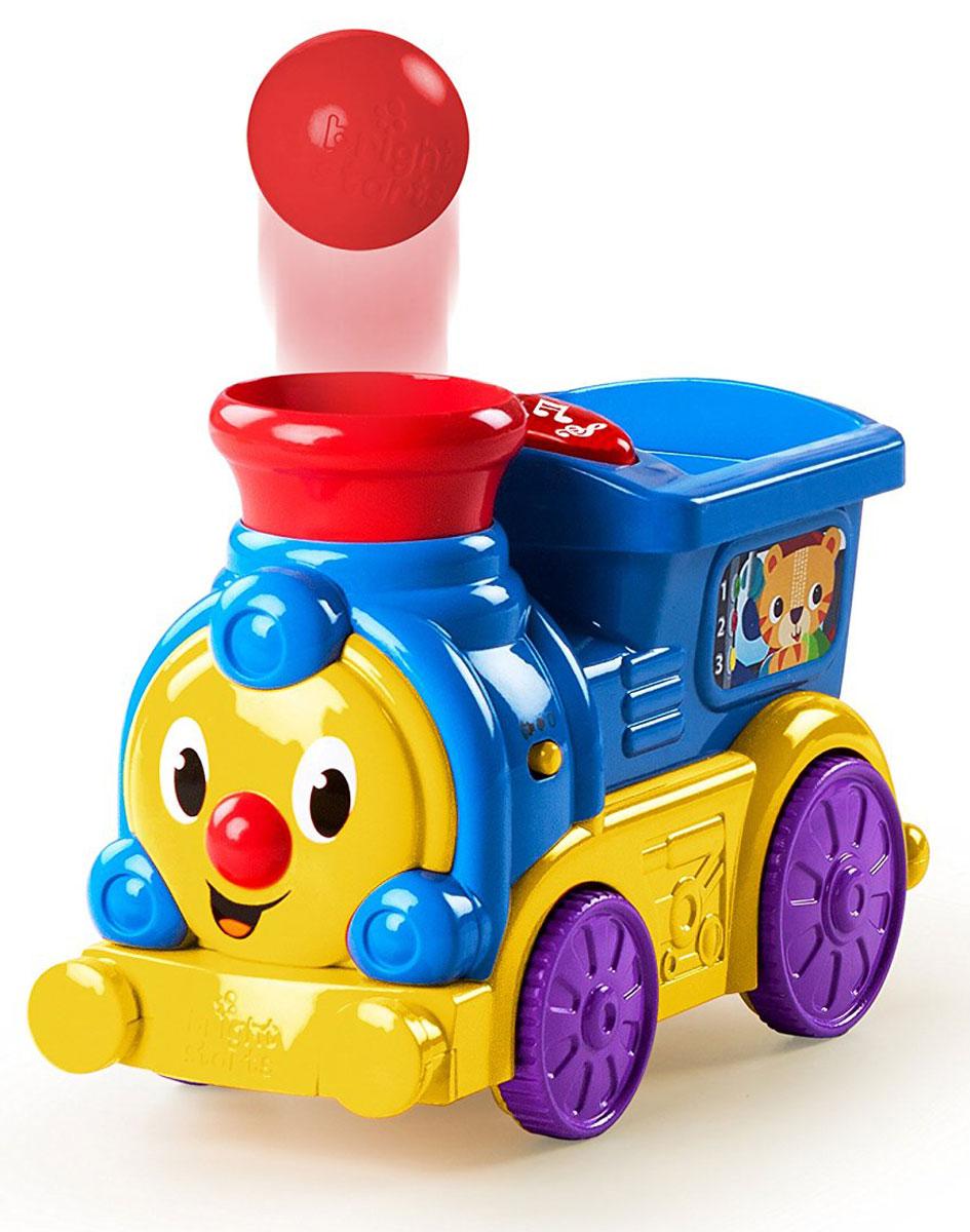 Bright Starts Развивающая игрушка Веселый паровозик паровозик веселый keenway с паззлами